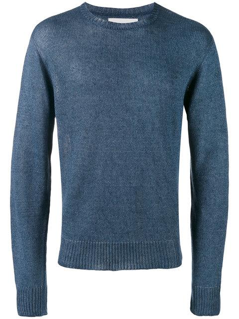 Our Legacy Base Round Neck Jumper In Blue