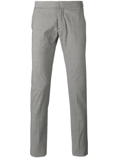 Andrea Pompilio Houndstooth Pattern Trousers