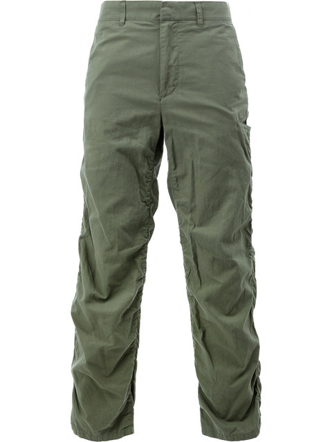 Undercover Gathered Seam Trousers - Green