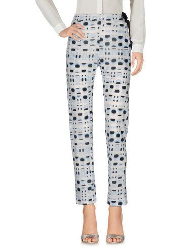 Pinko Casual Pants In Sky Blue