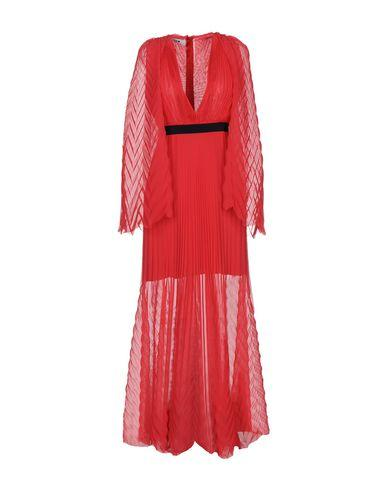 Msgm Long Dresses In Coral