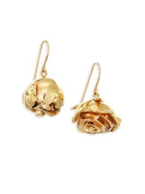 Aurelie Bidermann Demetria Asymmetrical Drop Earrings In Na