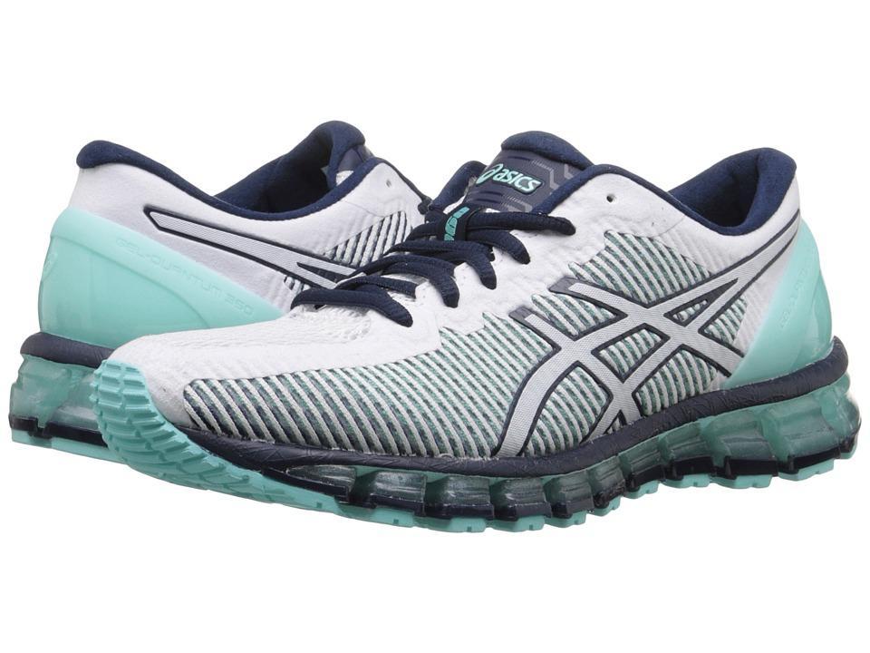 low priced 35ced 8fb4a Asics - Gel-Quantum 360 Cm (Aruba Blue/White/Dark Navy) Women's Running  Shoes