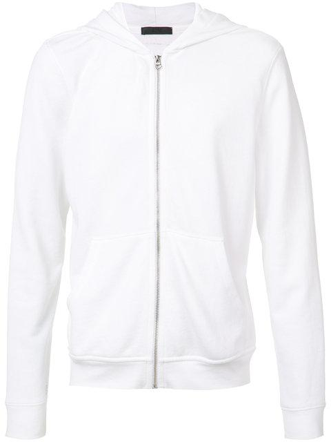 Atm Anthony Thomas Melillo Cotton-Blend French Terry Hoodie In White