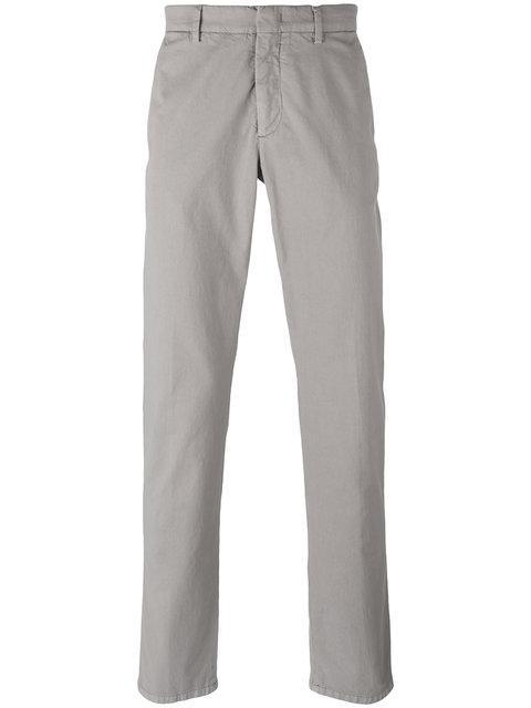 Z Zegna Regular Straight-Leg Trousers