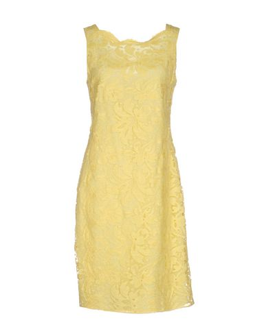 Emilio Pucci Short Dress In Yellow