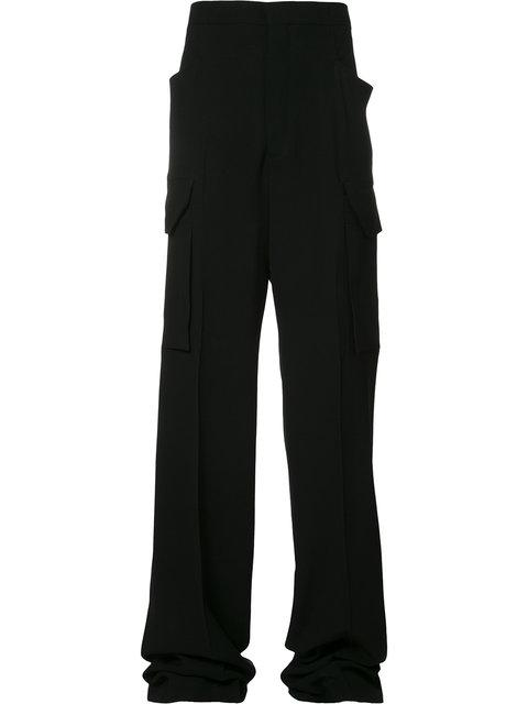 Rick Owens Cargo Pants - Farfetch In Black