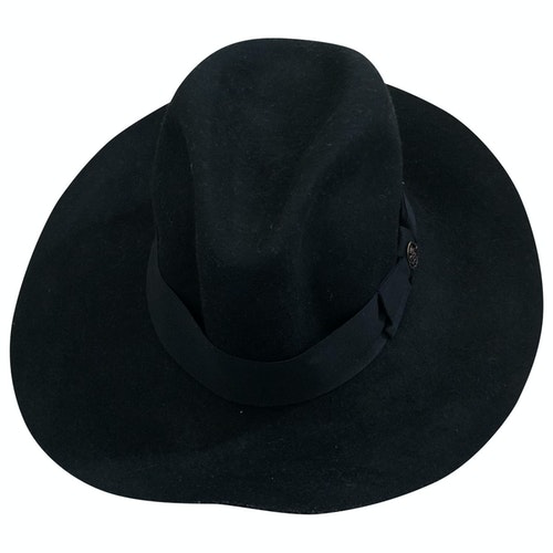 Pre-owned Emilio Pucci Black Wool Hat
