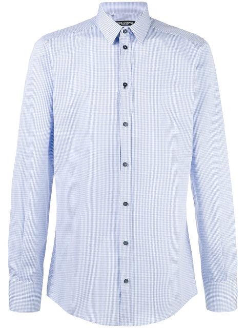 Dolce & Gabbana Button-Up Shirt - Blue
