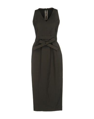 Rick Owens 3/4 Length Dress In Grey