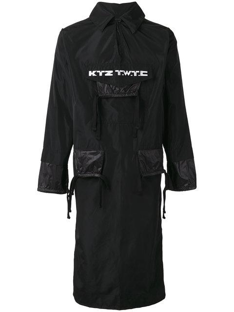 Ktz 'Twtc' Elongated Jacket - Black