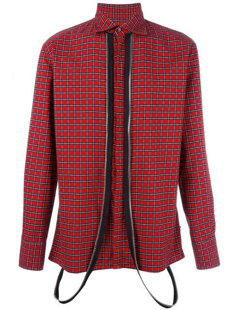 Dsquared2 Punk Dean Collar Tartan Shirt