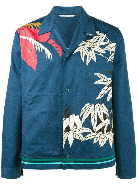 Valentino Palm Leaf Print Shirt