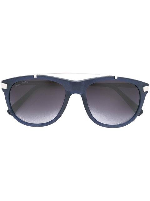 Dsquared2 Silver-Toned Aviator Sunglasses