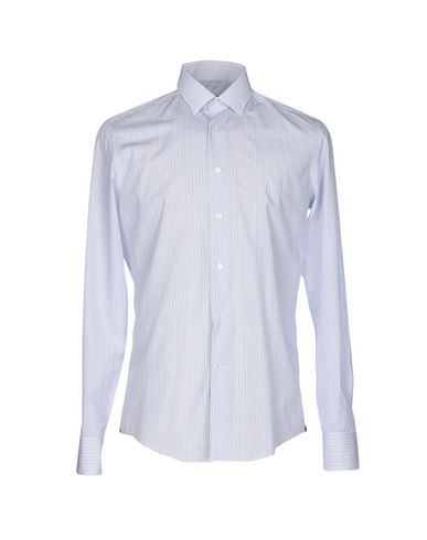 Lanvin Striped Shirt In White