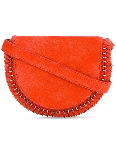 Paco Rabanne Loops Detail Crossbody Bag - Red