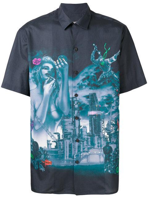 Lanvin 'The Refinery' Shirt - Blue