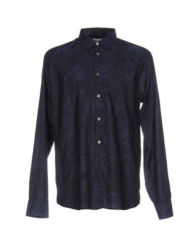 Paul & Joe Patterned Shirt In Dark Blue