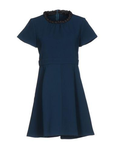 Maje Short Dresses In Deep Jade