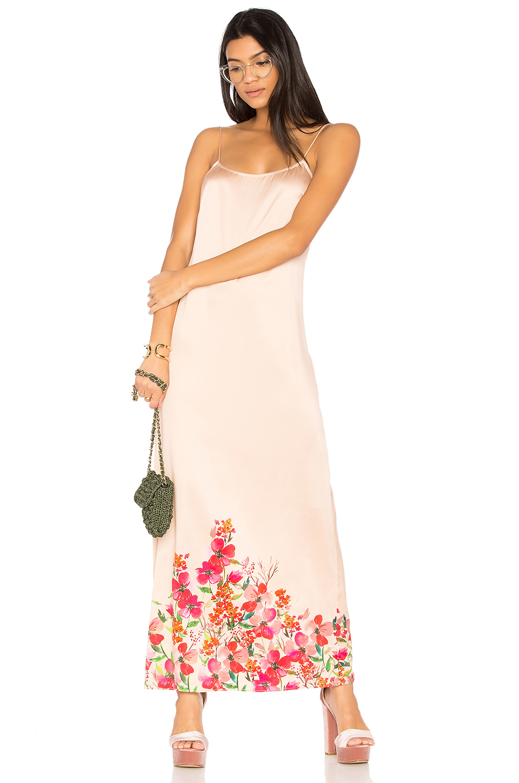 Lpa Dress 192 In Border Floral