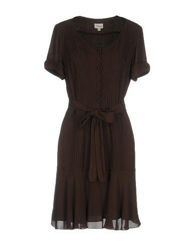 Temperley London Short Dresses In Brown