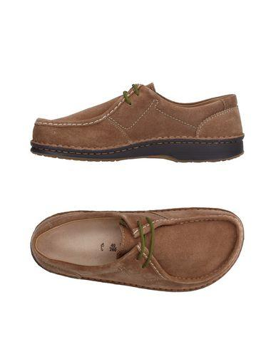 Birkenstock Laced Shoes In Camel