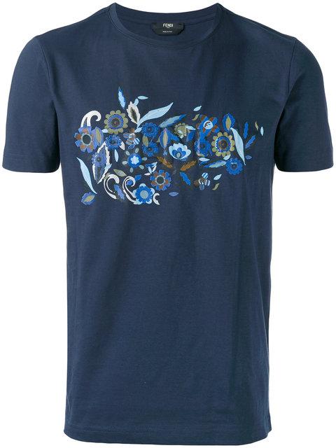 Fendi Floral Print T-Shirt