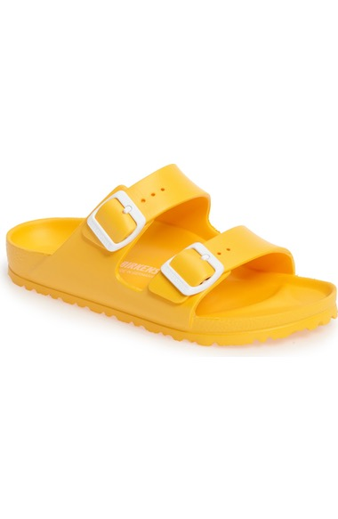95cbbd0d605 Birkenstock Essentials - Arizona Slide Sandal In Scuba Yellow