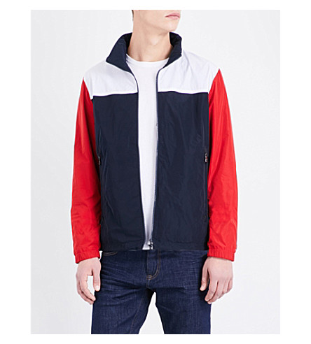 Tommy Hilfiger Terence Sport Shell Jacket In Midnight