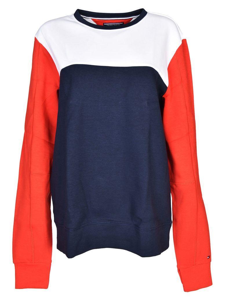 Tommy Hilfiger Crew Neck Sweatshirt In Midnight