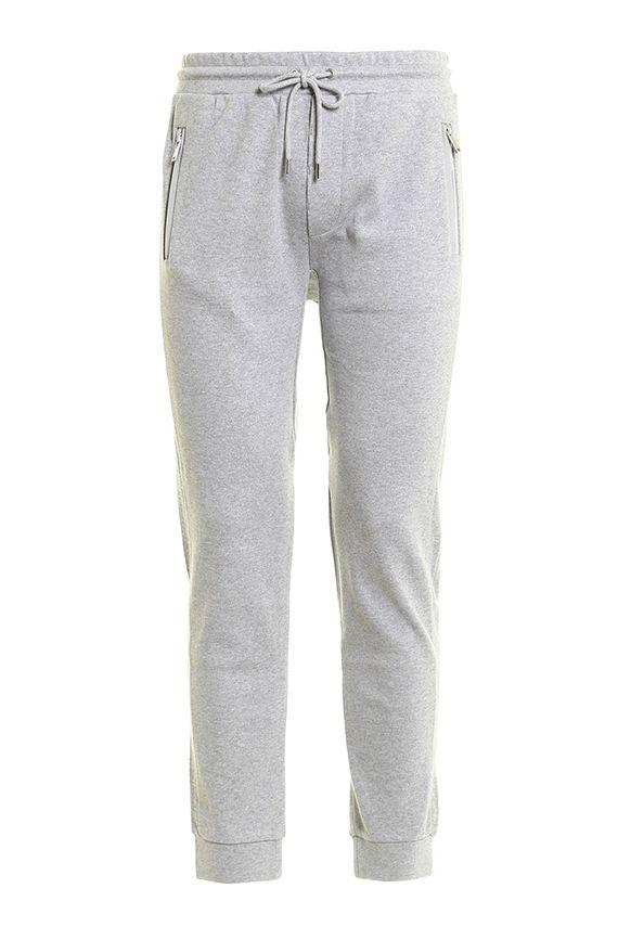 Michael Michael Kors Jogging Trousers With Band In Grey