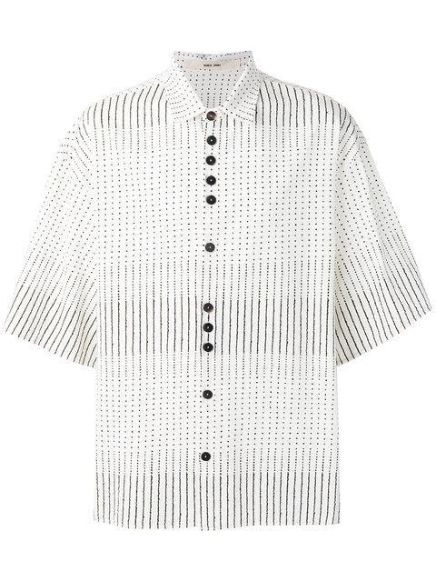 Damir Doma Shirt In Light Granite Raw Umber