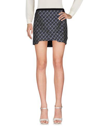 Maje Mini Skirt In Dark Blue