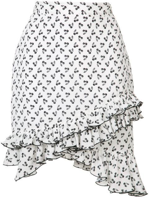 Altuzarra Cherry Print Skirt