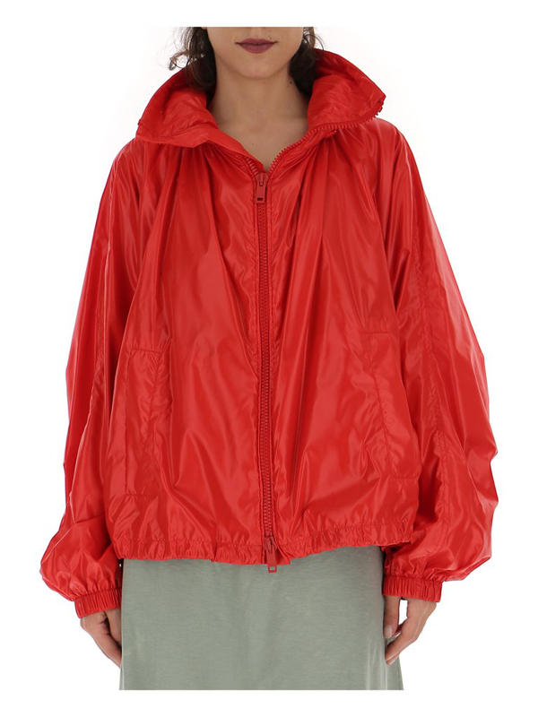 Givenchy Women's Bw003j101l629 Red Polyamide Outerwear Jacket