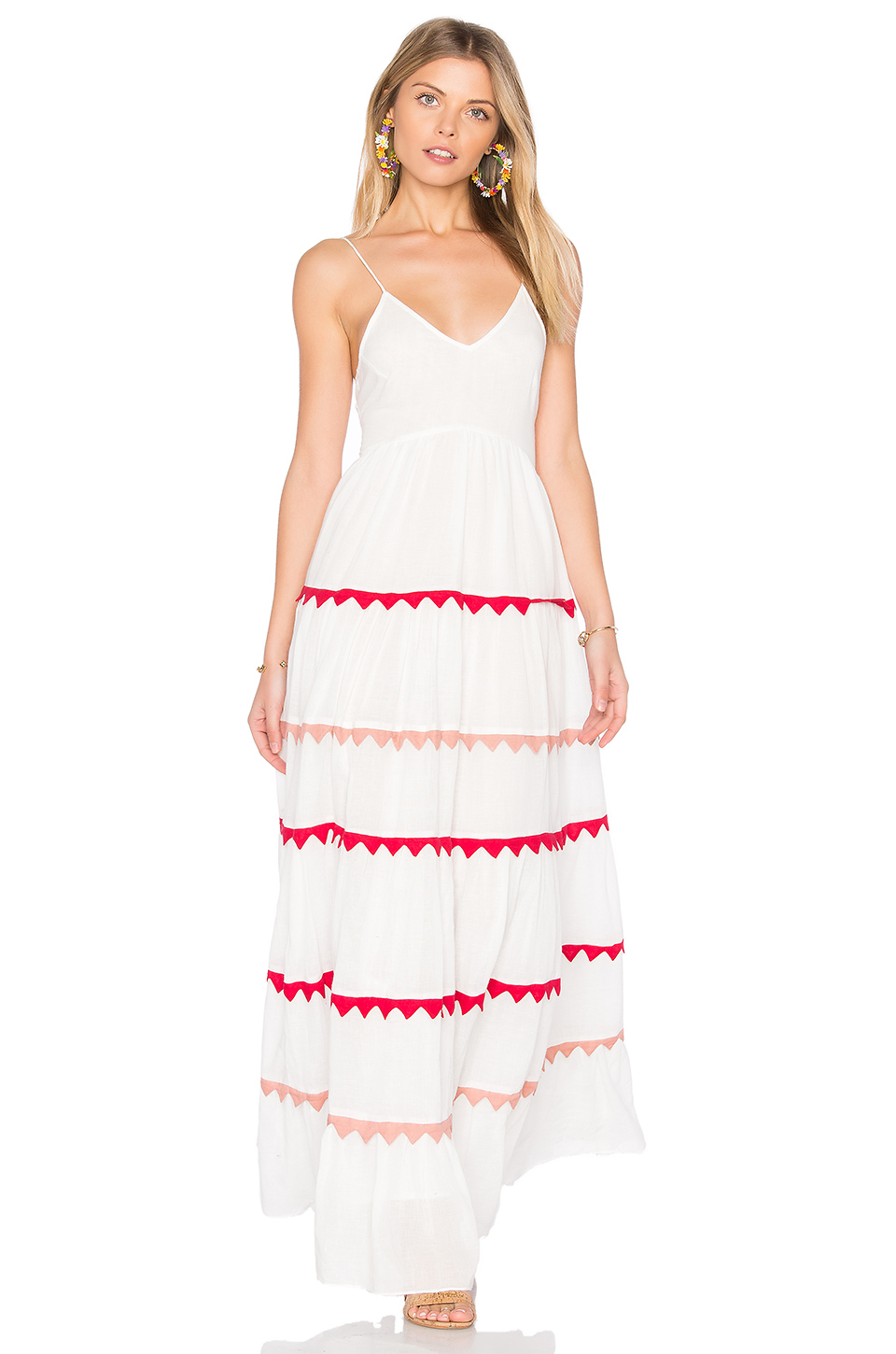 Carolina K Marieta Dress In White