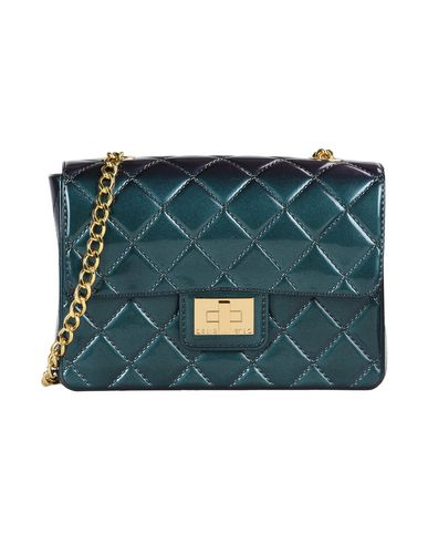 Designinverso Handbags In Deep Jade