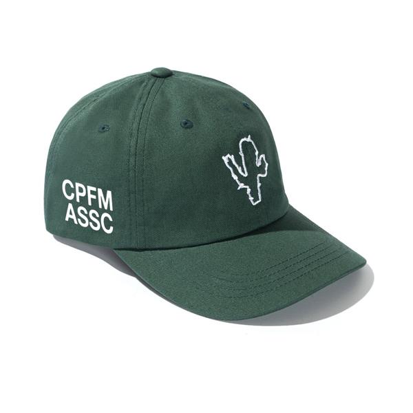 Pre-owned Anti Social Social Club  X Cpfm Cap Green