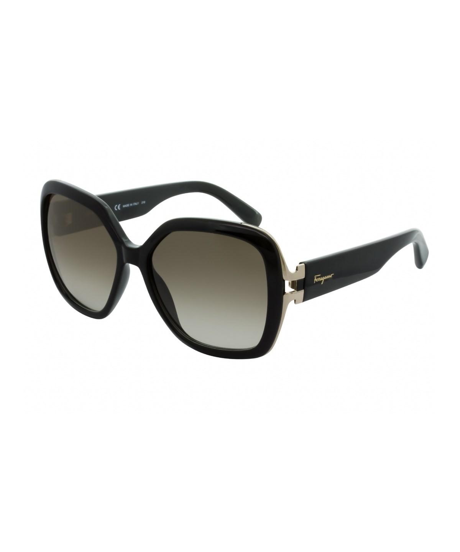 Salvatore Ferragamo Sf781S 001 In Black/Brown Gradient