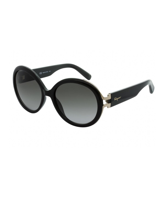Salvatore Ferragamo Women's Sf780S 57Mm Sunglasses In Black/Grey Gradient