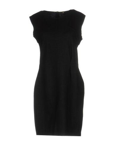Maje Short Dresses In Steel Grey