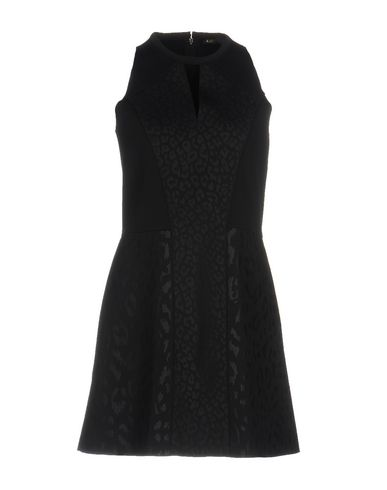 Maje Short Dress In Black