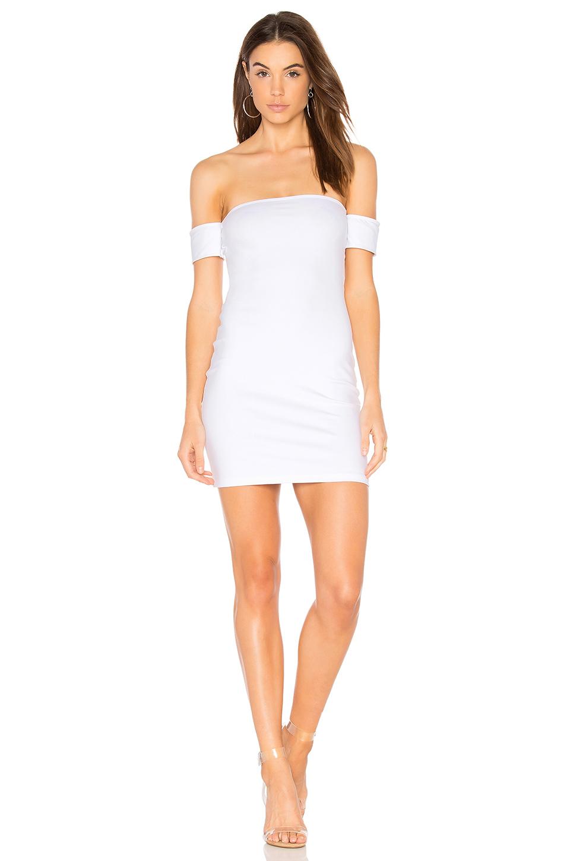 Flynn Skye Roxy Dress In White