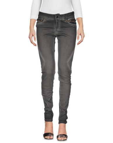 Maje Denim Pants In Grey