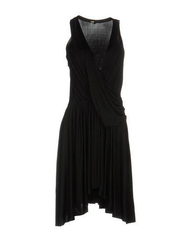 Maje Short Dress In Black