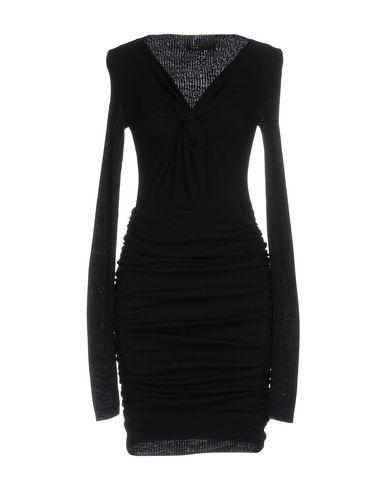 Maje Short Dress In Dark Blue