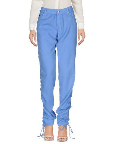 Blumarine Casual Pants In Azure