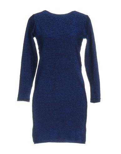 Maje Short Dress In Blue