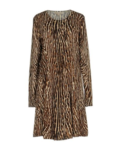 Michael Michael Kors Short Dress In Beige