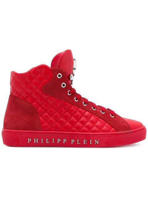 Philipp Plein 'California' Hi-Top Sneakers
